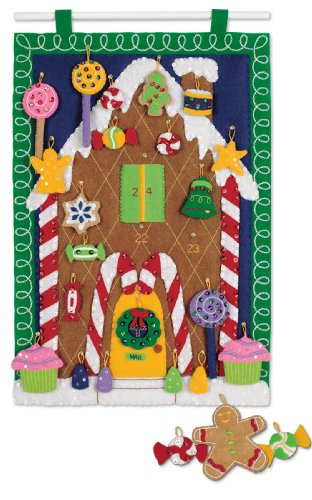 Dimensions Gingerbread House Advent Calendar