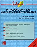 img - for Introduccion a Las Matematicas Universitarias (Spanish Edition) book / textbook / text book