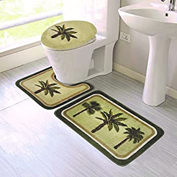 Amazon Com Bacova Guild Citrus Palm Bath Rug 20 Quot X 33