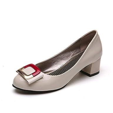 Darringls_Zapatos para Mujer,Sandalias Las señoras de Las Mujeres se Deslizan Sobre Sandalias Casuales talón sólido Moda holgazán Zapatos Solos: Amazon.es: ...