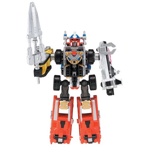 Power Rangers Operation Overdrive Deluxe Megazords - DriveMax Megazord