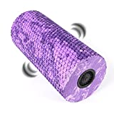 Vibrating Exercise Foam Roller, 4-Speed High Intensity Vibration Foam Roller Massager, Rechargeable Electric Fitness Roller for Muscle Recovery, Deep Tissue & Trigger Point Sports Massage Therapy For Sale