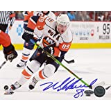 Steiner Sports NHL New York Islanders Mike Comrie Stick Handling 16 x 20-inch Photo