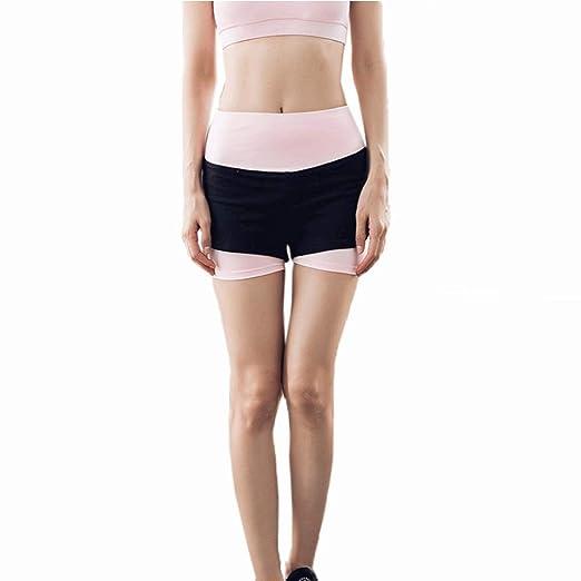 Goodvk Shorts Deportivos de Yoga para Mujeres Entrenamiento ...