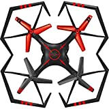 Dreamyth New A25 6-Axis Gyro RC Quadcopter RTF Flying Toys Helicopter (Red)