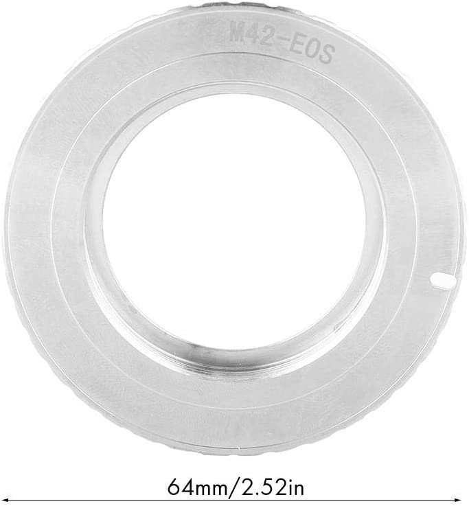 Electronic Mount Adapter Ring for M42 Lens Camera Filter Accessories Nannday Filter Ring Adapter