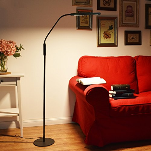 Great St DGF LED Eye Protection Floor Lamp Modern Simple Living Room Bedroom Bedside Vertical Piano Lamp by Great St (Image #3)