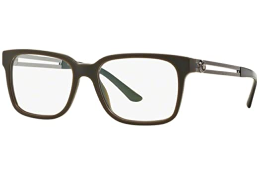 834a8ed848e Amazon.com  Versace Eyeglasses VE 3218 5164 Sand Green Size 53  Clothing