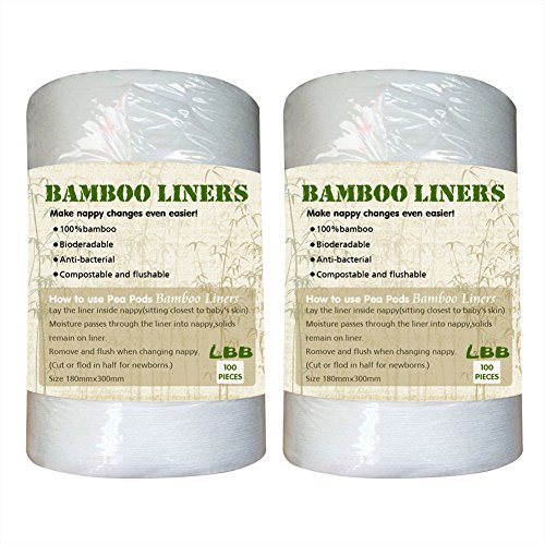 LBB Bamboo Biodegradable Flushable Diaper