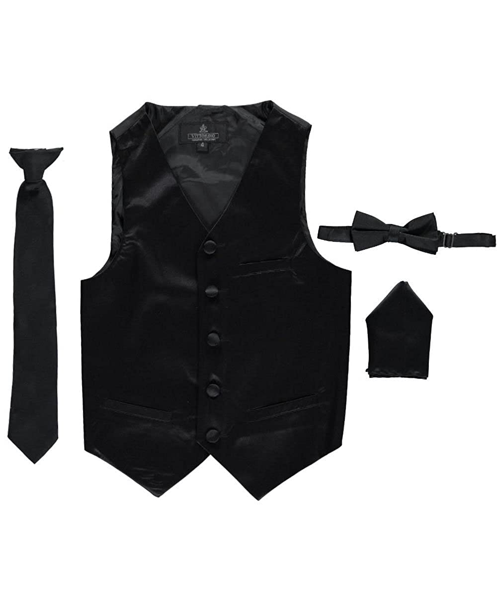 Vittorino Little Boys' 4-Piece Vest & Accessories Set