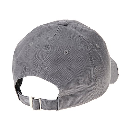 Vintage Hat Baseball de Emboridery Gorras Sombrero Gorra de WITHMOONS Distressed Cap Gris béisbol de Trucker Trucker KR1737 8Cf5q6w
