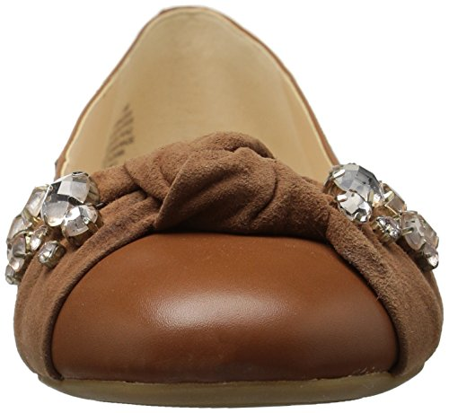 Nine Dark Maudisa Dark Loafer West Natural Leather Women's Flat Natural 6rR6q7