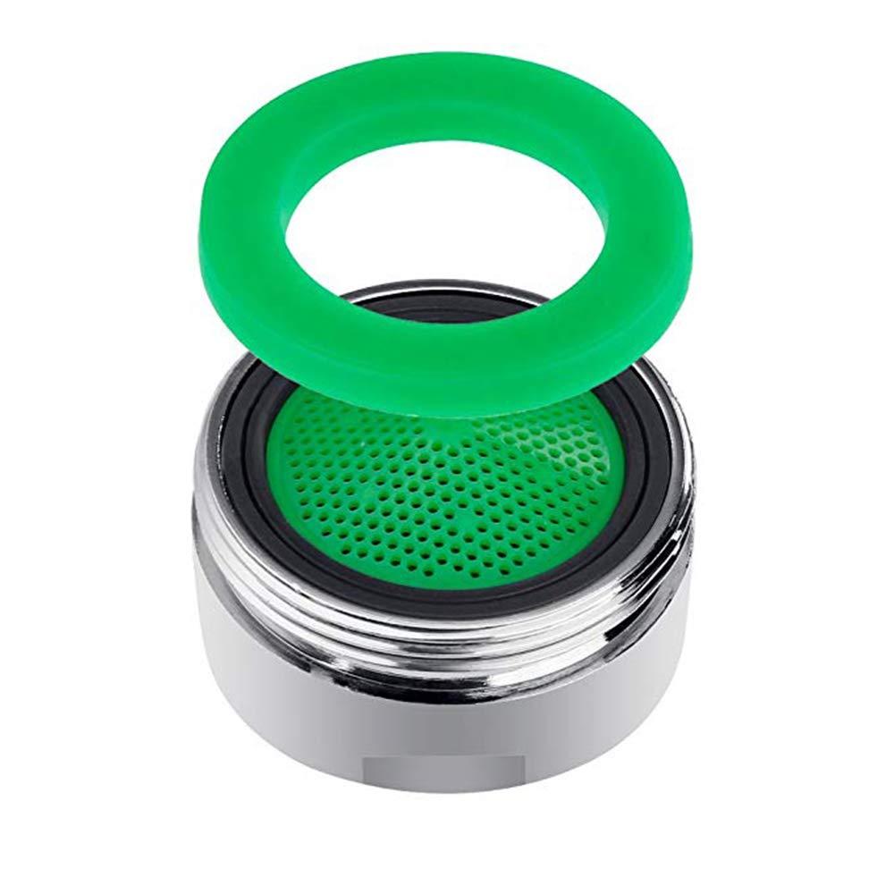 10 unidades Aireador para Grifos M24 incluye llave de boquilla mezcladora Filtro grifo de accesorios de grifo Atomizador Ecol/ógico de Agua boquilla mezcladora con filtro ABS