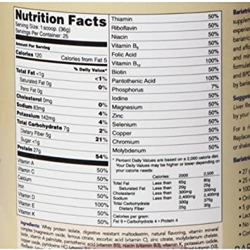 Bariatric Fusion Meal Replacement – Cappuccino 21 Servings