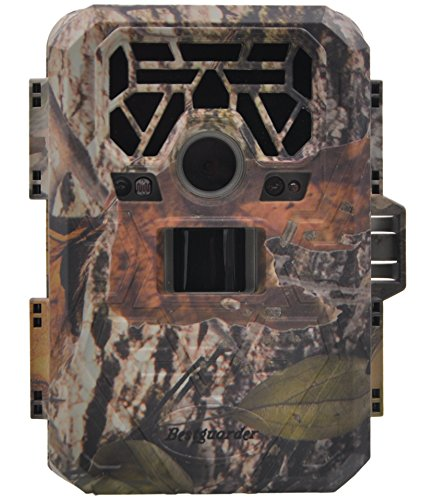 "FULLLIGHT TECH No Glow Trail & Game Camera 12 MP 1080P Wildlife Camera with Infrared Night Vision Motion Activated Built-in 2.0"" Color LCD Screen Bestguarder Outdoor Waterproof Security Cameras"