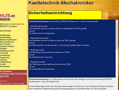 Wörterbuch für den Mechatroniker/-Kältetechnik: Deutsch-Englisch ...