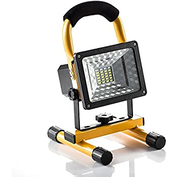 [15W 24LED] Spotlight Rechargeable Work Light, Outdoor