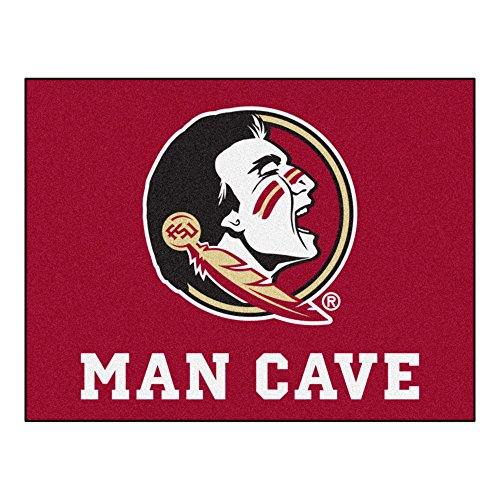Fanmats 14545 Florida State University Nylon Universal Man Cave All-Star (All Star Edge)