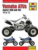 quad yamaha raptor - 2001-2012 Yamaha Raptor 660 700 ATV Quad HAYNES REPAIR MANUAL