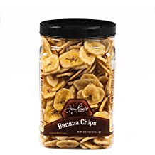 Banana Chips - Sweetened (20 oz) Fresh, Crisp & Tasty. Perfect for any Occasion- Jaybees
