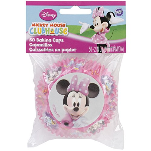 Wilton Disney Mickey Mouse Clubhouse Minnie Baking Cups (Cupcakes Minnie Mouse)