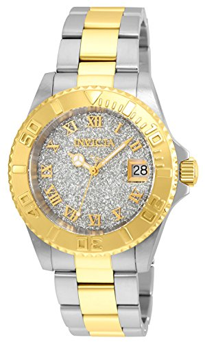 Invicta Women's Angel Quartz Watch with Stainless-Steel Strap, Two Tone (Model: ()
