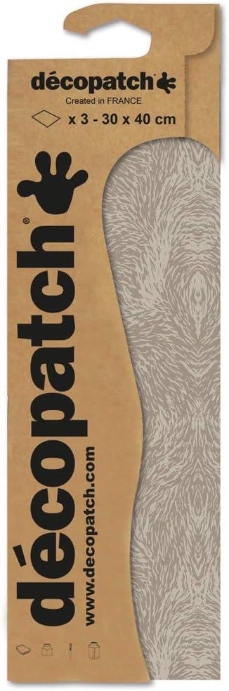 30x40cm mehrfarbig d/écopatch C805C Paper Decopatch Papier