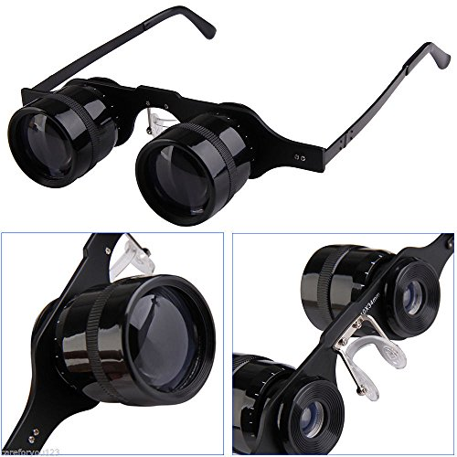10x34 Optical Glasses Eyeglasses Hand Free Outdoor Fishing Binoculars (Hogwarts Uniform Costume)