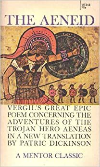 an analysis of an epic hero in aeneid The aeneid analysis the aeneid is an epic because is a long poem the ending of the aeneid, in which our valiant hero hesitates before killing his.
