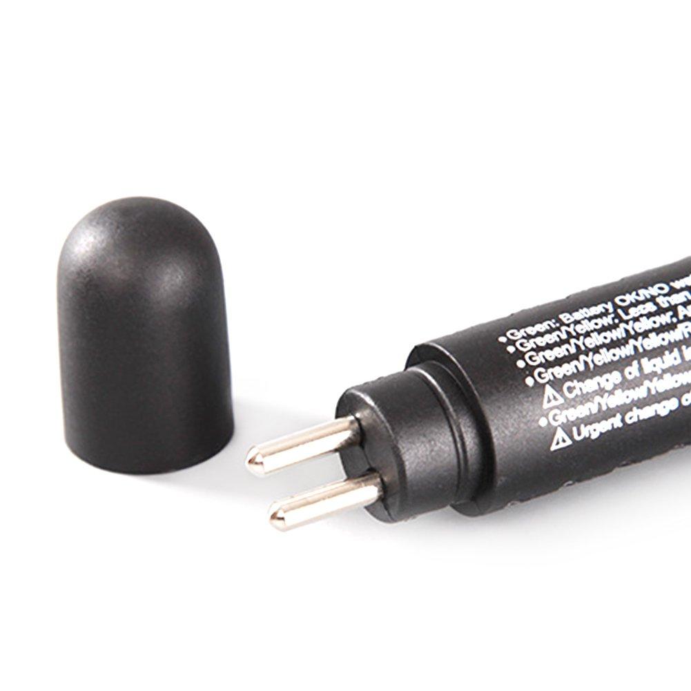 SparY 5 LED Indicador Auto Car Indicador Freno Fluido Diagn/óstico Detecci/ón L/íquido Humedad Agua Pen Test Tool