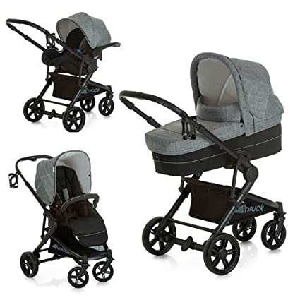 Hauck Atlantic Plus Trio Set – carro 3 en 1, coche de bebes 3 piezas