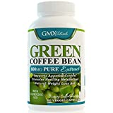 GMX NATURALS Pure Green Coffee Bean Extract 800mg Natural Weight Loss Supplement, 60 Capsules