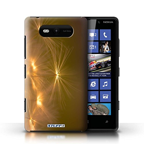 Etui / Coque pour Nokia Lumia 820 / Orange conception / Collection de Allumez la vie