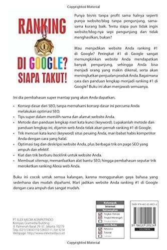 Ranking 1 Di Google Siapa Takut Indonesian Edition Helianthusonfri Jefferly 9786020209234 Amazon Com Books