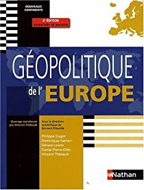Géopolitique de l'Europe par Elissalde