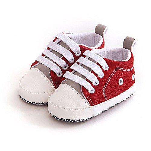FemmeStopper Unisex-Baby's Red Sneaker
