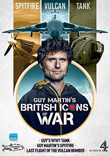 Guy Martin's British Icons of War (Spitfire, Vulcan Bomber & WW1 Tank) [DVD]