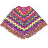 The Children's Place Girls Multi Zigzag Sweater Poncho