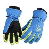 Azarxis Kids Children Ski Gloves Winter Snow Gloves Waterproof Breathable Warm Gloves for Snowboarding, Sledding