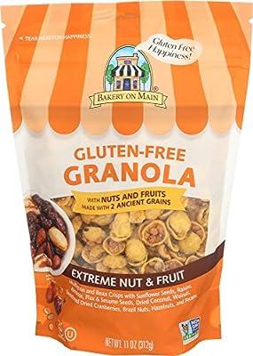 Bakery On Main Gluten Free Non GMO Granola, Extreme Nut & Fruit, 11 Ounce