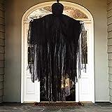 Aobuy 5 Ft Halloween Hanging Grim Reaper, Creepy