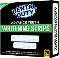 Dental Duty Teeth Whitening Strips - Pack Of 28 - for Upper and Lower Teeth - Best Tooth Whitener Product on the Market.