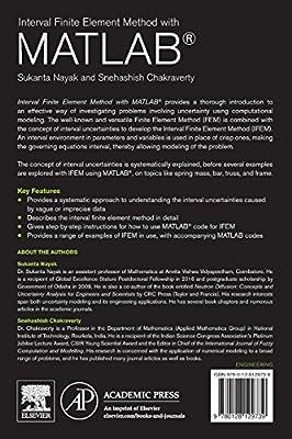 Interval Finite Element Method with MATLAB: Sukanta Nayak