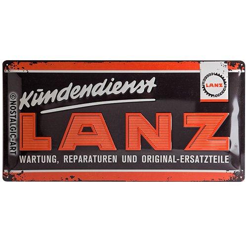 Nostalgic-Art 27022 Lanz Logo, Cartel de Chapa 25 x 50 cm ...
