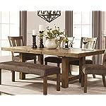 Ashley Furniture Signature Design - Tamilo Dining Room Table - Gray/Brown