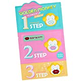 [Holika Holika] Golden Monkey Glamour Lip 3-Step Kit 1 pack