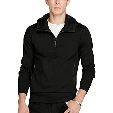 Polo Ralph Lauren Mens Cotton Interlock Hooded Pullover Hoodie