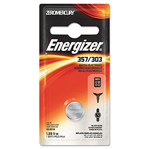 Energizer General Purpose Battery - 150 mAh - Silver Oxide - 1.5 V DC - 357BPZ