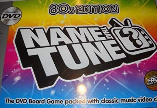 Name That Tune DVD Board Game - 80s Edition by Imagination by Imagination