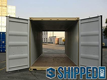20ft Shipping Container >> 20ft Double Door Tunnel Shipping Container New Certified Cargo
